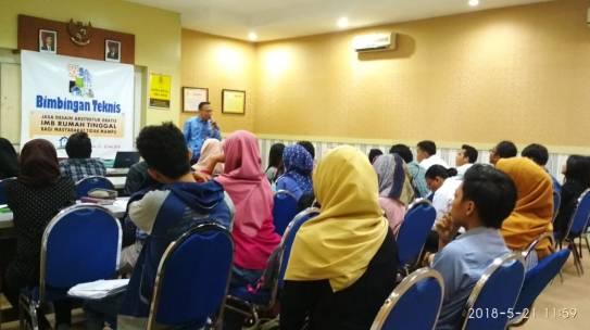 Bimbingan Teknis PTSP kecamatan Jagakarsa dengan FTSP- ISTN