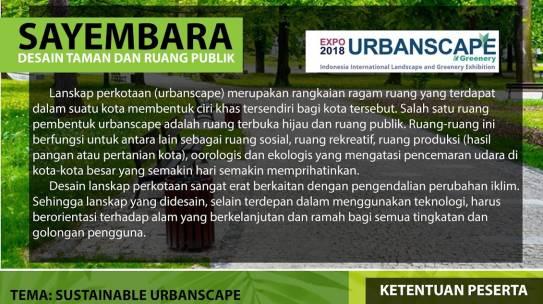 Sayembara Desain Taman dan Ruang Publik