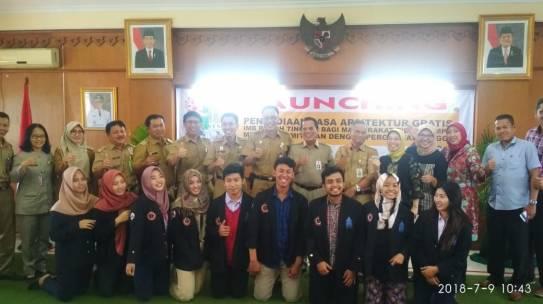 Launching Penyediaan Jasa Arsitektur Gratis PTSP Kecamatan Jagakarsa dengan FTSP ISTN