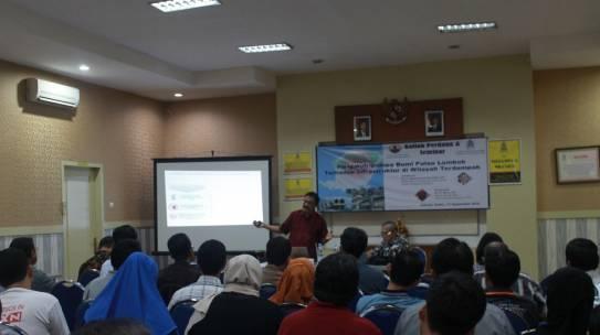 Seminar Pengaruh Gempa Bumi Pulau Lombok Terhadap Infrastruktur di Wilayah Terdampak
