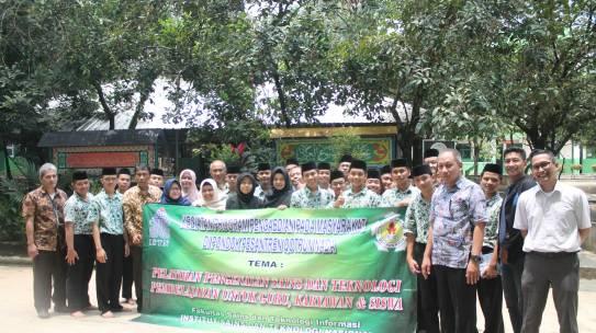 Pengabdian Masyarakat FSTI di Pondok Pesantren Qotrun Nada Depok