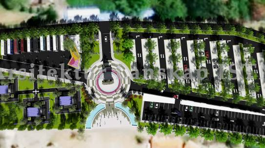 Tim Mahasiswa Arsitektur Lanskap ISTN Juara 1 Sayembara Desain