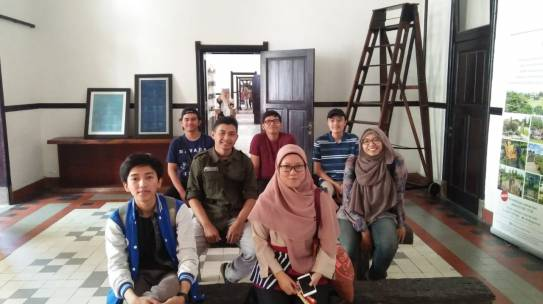 Kuliah Lapang MK Lanskap Wisata di Kota Semarang