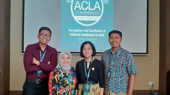 PROGRAM STUDI ARSITEKTUR LANSKAP ISTN KEMBALI IKUT SERTA DALAM ACLA 2019 DI JOHOR BAHRU MALAYSIA