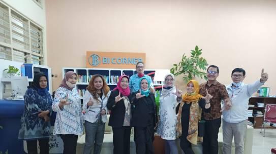Peresmian BI Corner dilaksanakan secara daring dihadiri oleh pimpinan ISTN