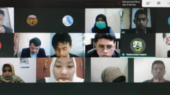 Yudisium Daring menggunakan Google Meet bagi prodi Fisika,TI & SI, FSTI ISTN Sem Genap 2019/2020